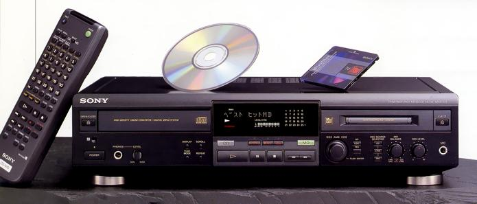Sony MXD-D1 (1998) CD/MD combo