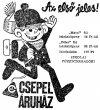 Reklám napilapban - fél évszázada