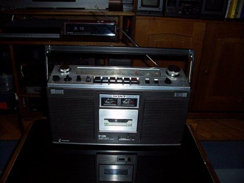 Sony CF 520L rádiómagnó Boombox ős