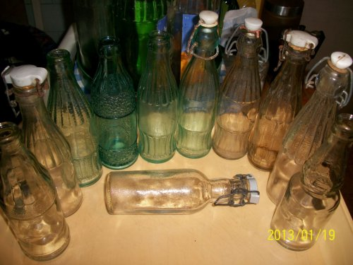 Üdítős üvegek - Ki tud infót róluk??