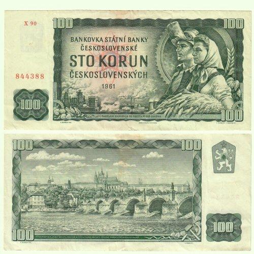 Csehszlovák száz Korona