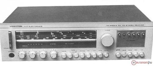 Videoton RA6363S receiver