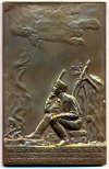 Irredenta cserkész bronzplakett