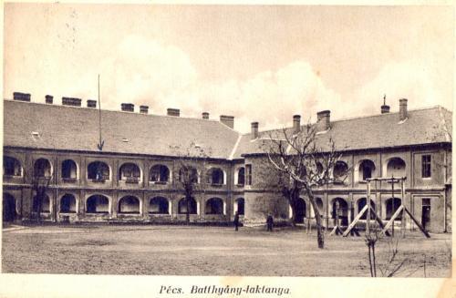 Pécs Batthyány-laktanya