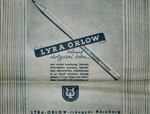 Lyra Orlow  ceruza