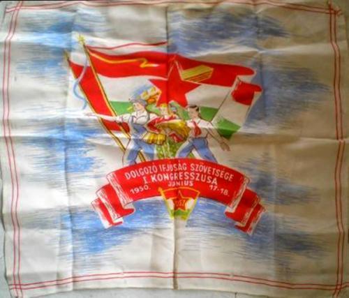D.I.SZ. kongresszus zsebkendő