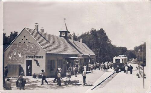 Úttörővasút Úttörőváros állomás