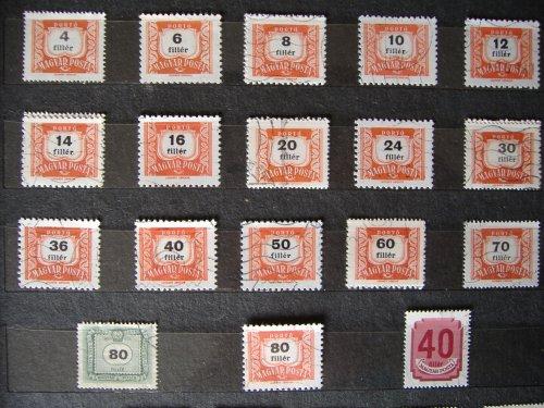 Filléres bélyegek