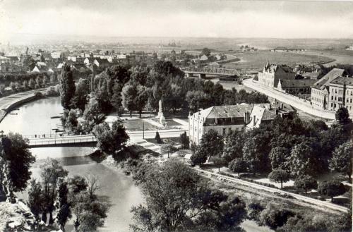 Győr látkép