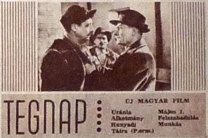 Tegnap - magyar film