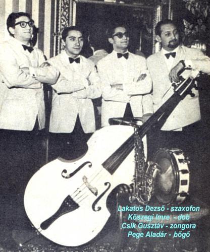 Dzsessz zenészek