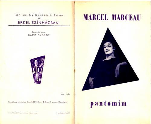 Marcel Marceau pantomim művész