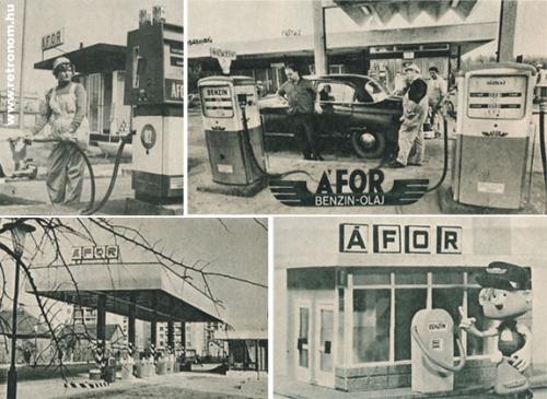 Áfor benzinkút