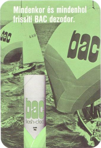 BAC dezodor
