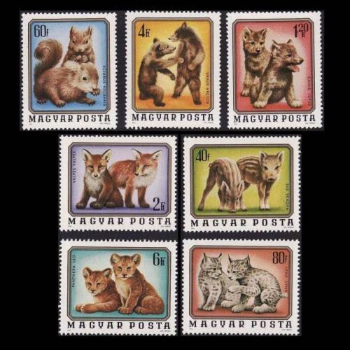 Állatok bélyeg sorozat