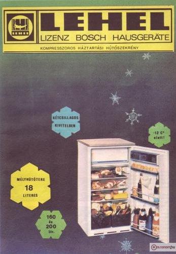 Lehel hűtőszekrény