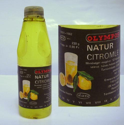 Olympos citromlé kicsi
