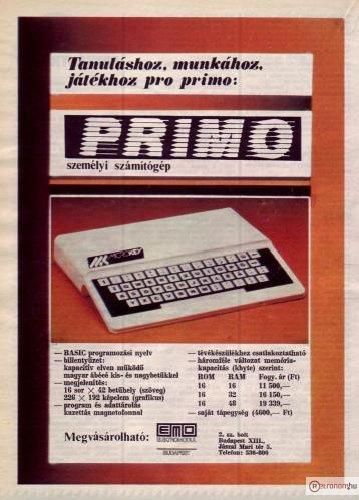 Primo számítógép