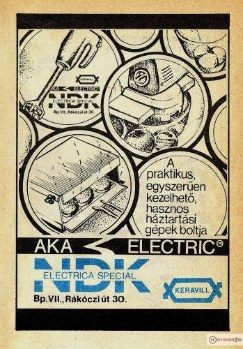 AKA Electric termékek