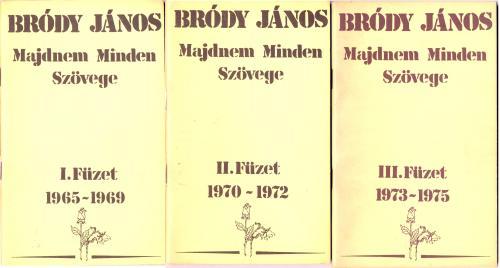 Bródy János Majdnem Minden Szövege