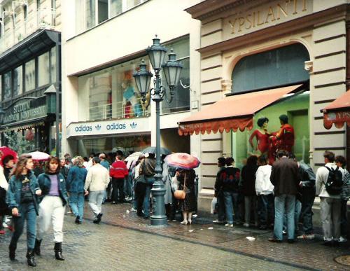 Adidas bolt Váci utca
