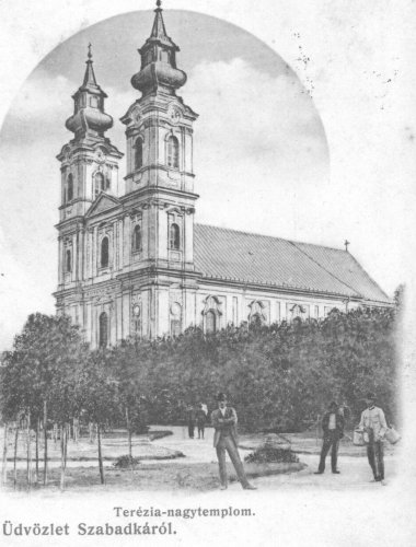 Szabadka Teréz templom