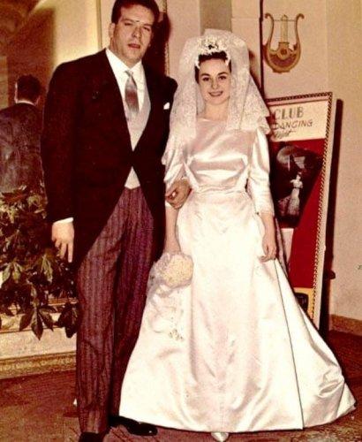 Maria Amato&Carlo Pedersoli(Bud Spencer) esküvője