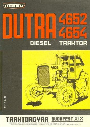 Dutra traktor - Dutra 4652 prospektus