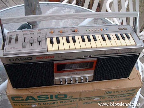 Casio ck 200 rádiós magnó