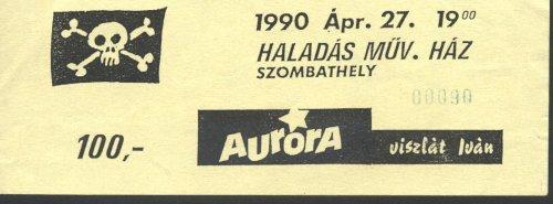 Aurora koncertjegy