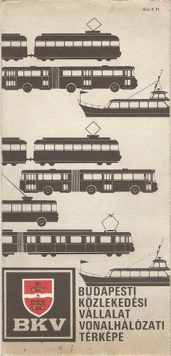 BKV Vonalhálózati térkép