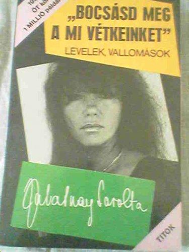 Zalatnay Sarolta könyv