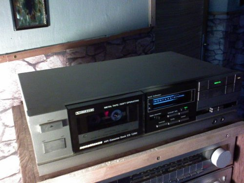 Nordmende HIFI Casette deck CD 1260