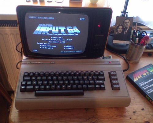 Commodore 64 számítógép üzem közben