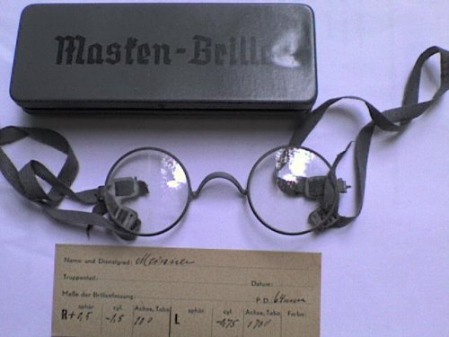 Szemüveg gázmaszkba