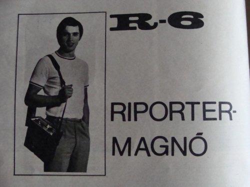 R-6 Riporter Magnó