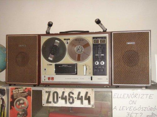 "Sony TC-270 orsós ""koffermagnó"""