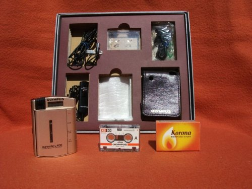 Olympus diktafon Pearlcorder L400