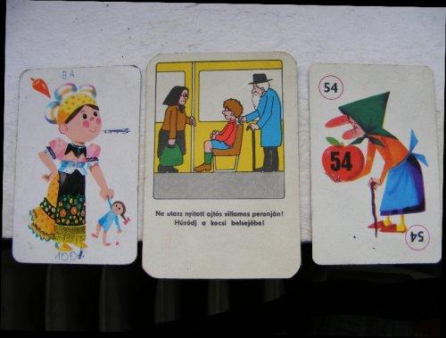 gyermek kártyák