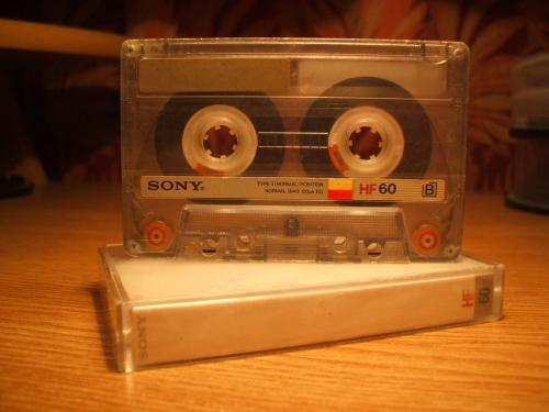 Sony HF60 kazetta
