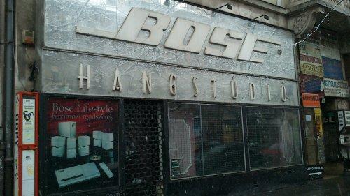 Bose Hangstúdió üzlet