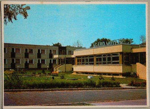 Agárd Motel - képeslap