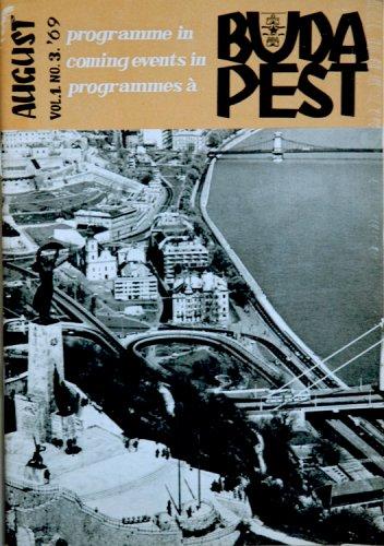 Budapest programfüzet