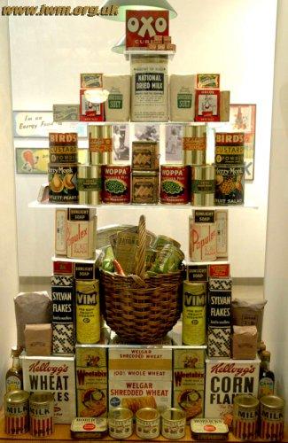 Élelmiszerek a II. Világháború idején Nagy Britanniában