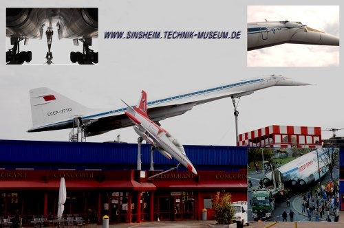 TU-144 repülőgép