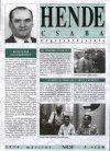 Hende Csaba választási plakátja