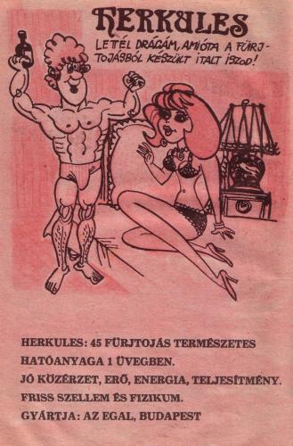 Herkules fürjtojás ital