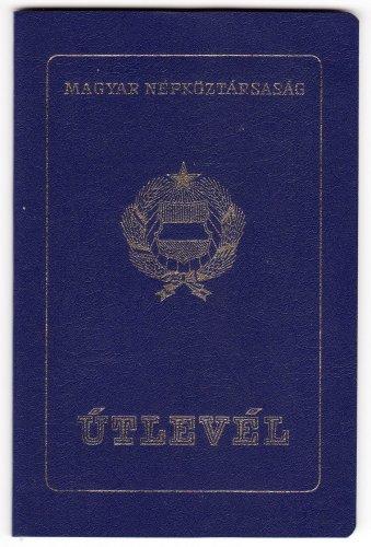 Kék útlevél