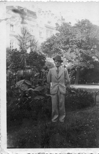 Soproni Takarékpénztár édesapámmal