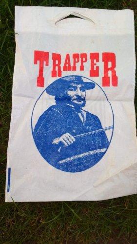 Trapper reklámzacskó
